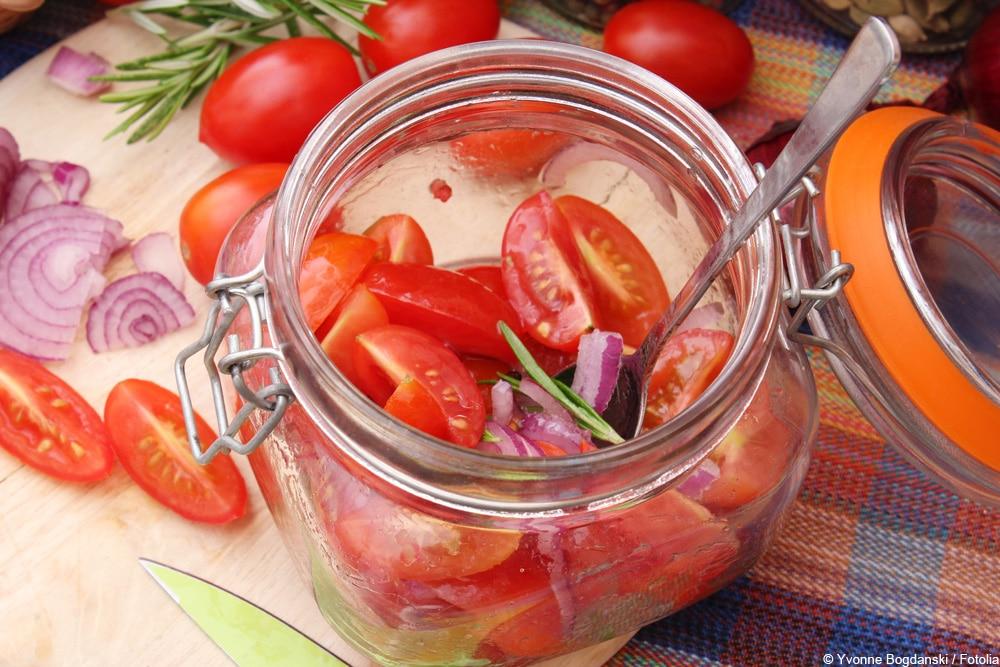 Tomaten einlegen in Essig