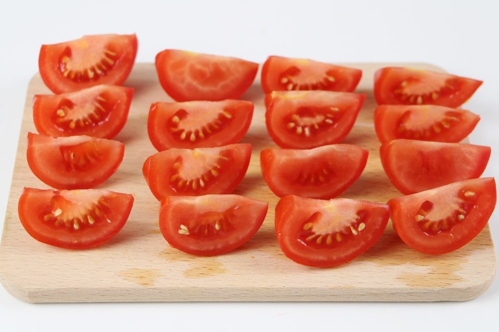 Tomatenstücke