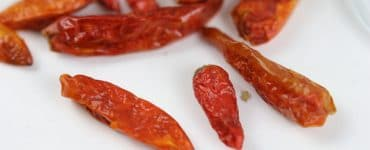 Chili trocknen