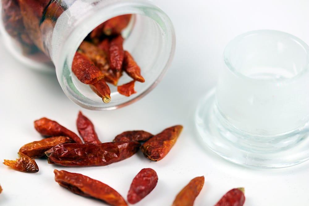 Chili im Glas