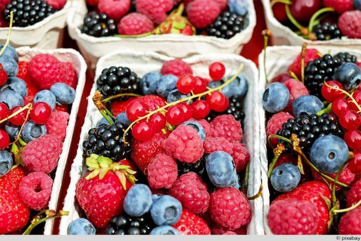 Beeren gemischt