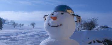 Schneemann Winter